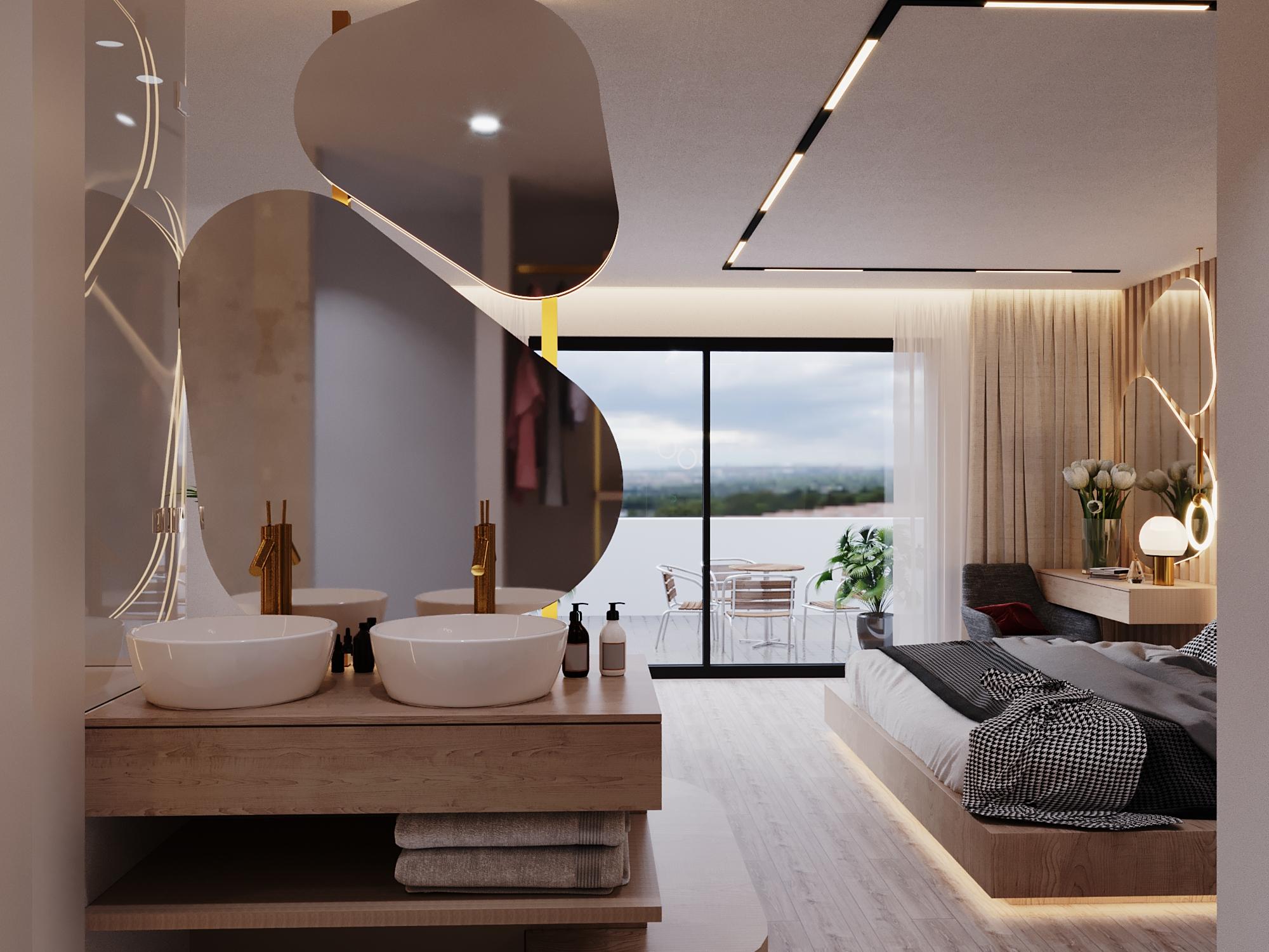 Rénovation suite hotel