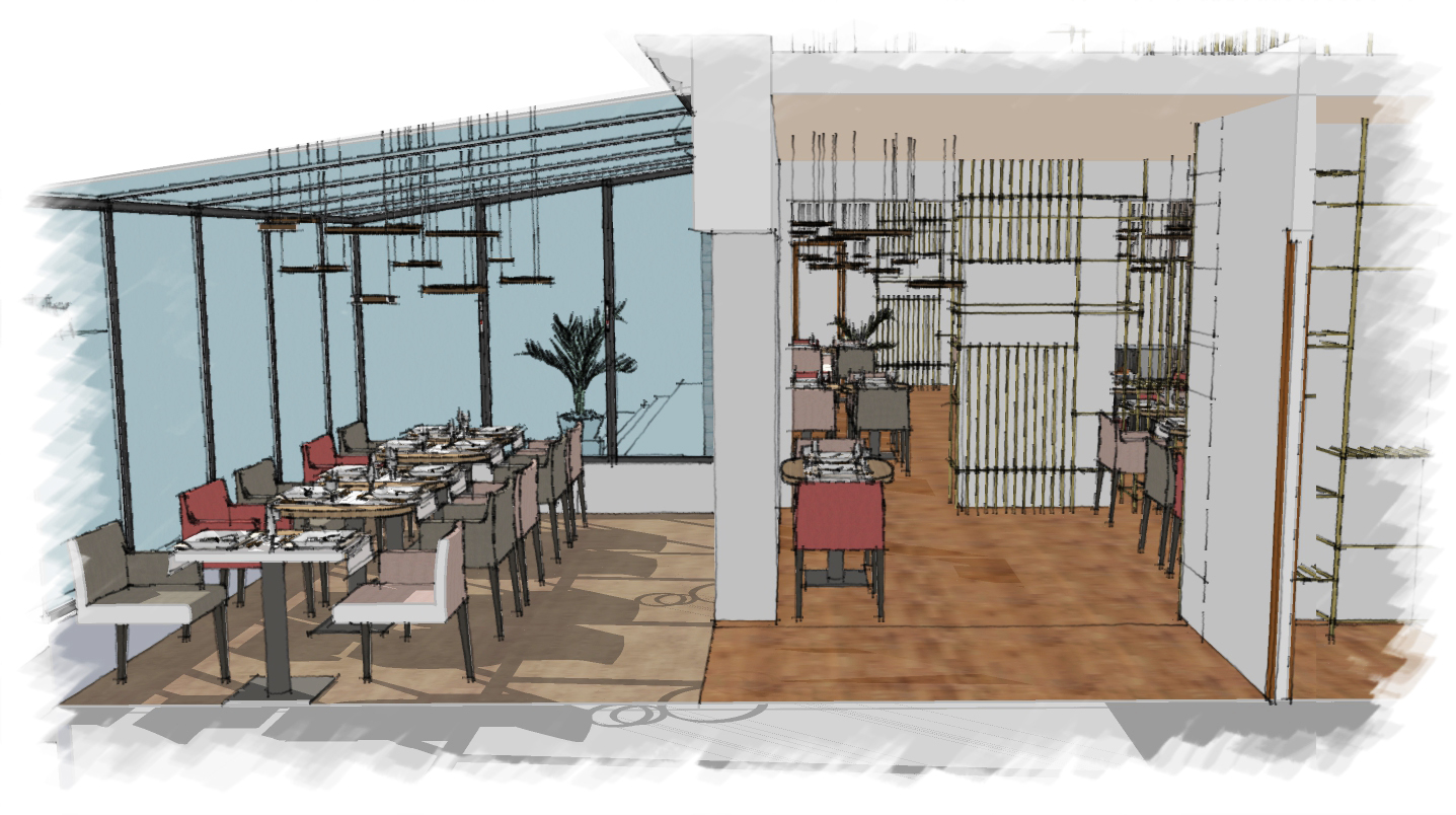 Réaménagement restaurant